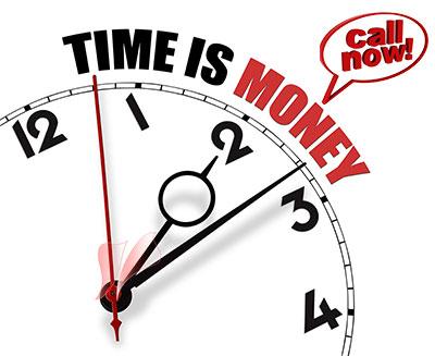 Time is money Τηλέφωνο για κατασκευή ιστοσελίδων