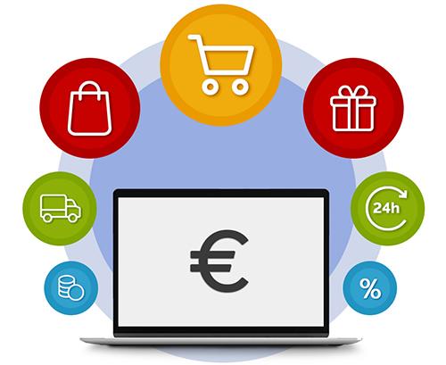 Κατασκευή e-shop, φτιάχνω οικονομικά eshop makemyweb