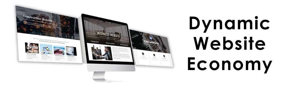 Κατασκευή ιστοσελίδων σε τιμές προσφοράς Dynamic Website Economy a8e8d86293b