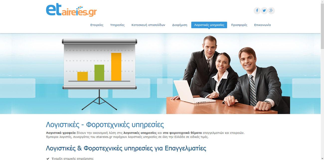 Κατασκευή ιστοσελίδων Περιστέρι